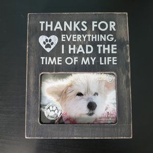 Pet Picture Frame